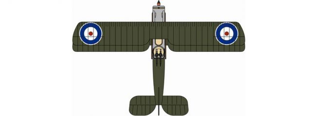 herpa Oxford 81AD005 Bristol F2B Fighter 11 Royal Flying Corps Flugzeugmodell 1:72