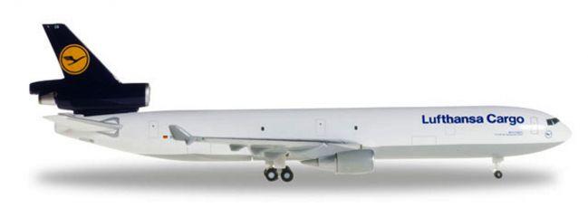 herpa 503570-004 McDonnell Douglas MD-11F Lufthansa Cargo Konnichiwa Japan Flugzeugmodell 1:500