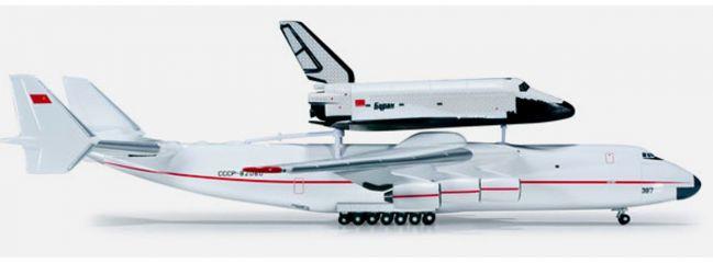 herpa 518895 Antonov AN-225 & Buran Orbiter Shuttle Flugzeugmodell 1:500