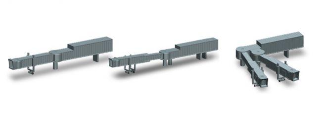herpa 521031 Fluggastbrücken 2 Stück Fertigmodell 1:500