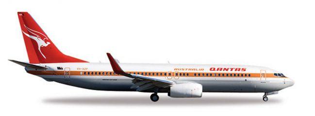 herpa 527637 Boeing 737-800 Qantas Retrojet Flugzeugmodell 1/500