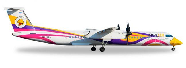 herpa 529662 Bombardier Q400 Nok Air Nok Anna Flugzeugmodell 1:500