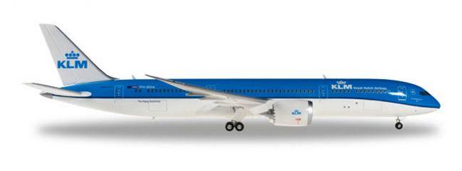 herpa 557450 Boeing 787-9 Dreamliner KLM Flugzeugmodell 1:200