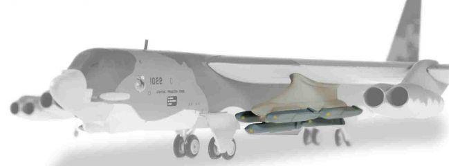 herpa 557559 AGM-86 Cruise Missile Set für B-52 Statofortress Zubehör 1:200