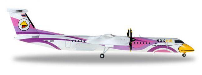 herpa 558136 Bombardier Q400 Nok Air Nok Kao Neaw Flugzeugmodell 1:200