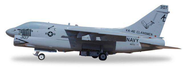 herpa 580175 Vought Corsair II A-7E US Navy Clansmen Flugzeugmodell 1:72