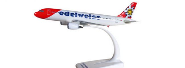herpa 610940 Airbus A320 Edelweiss Air new 2016 color Flugzeugmodell 1:200