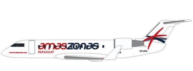 herpa 611558 Bombardier CRJ-200 Amaszonas Paraguay Steckbausatz Flugzeugmodell 1:100