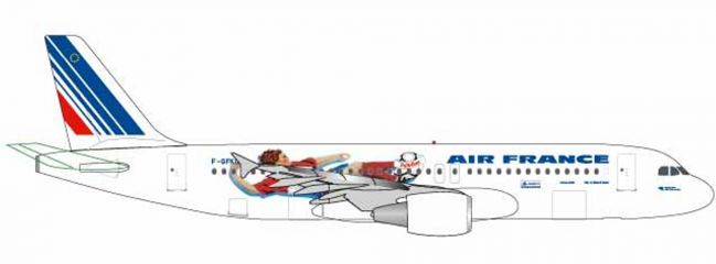 herpa 531405 Airbus A320 Air France France 1998 Flugzeugmodell 1:500