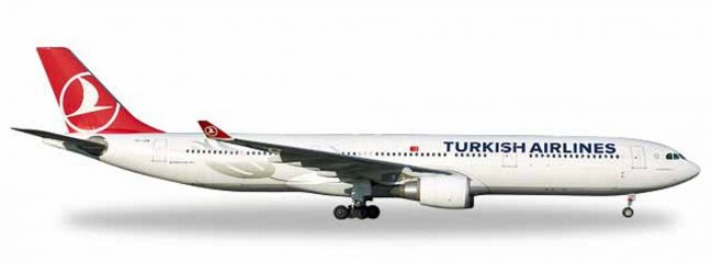 herpa WINGS 531443 Airbus A330-300 Turkish Airlines Pamukkale Flugzeugmodell 1:500