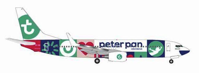 herpa 531450 Boeing 737-800 Transavia Peter Pan Flugzeugmodell  1:500