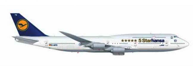 herpa WINGS 531504 Boeing 747-8 International Lufthansa Starhansa Flugzeugmodell 1:500