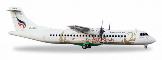 herpa 559164 ATR-72-500 Bangkok Airways Angkor Wat Flugzeugmodell 1:200