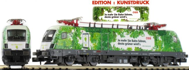 HOBBYTRAIN H2781 E-Lok Rh 1016 Green Point | ÖBB | analog | Spur N