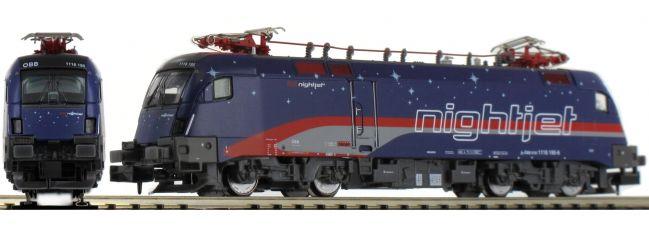 HOBBYTRAIN H2783 E-Lok BR1116 Nightjet ÖBB | DC analog | Spur N