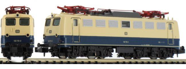 HOBBYTRAIN H2839 E-Lok BR 140 ozeanblau/beige DB | DC analog | Spur N