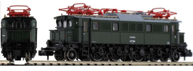HOBBYTRAIN H2891S E-Lok BR E17, grün | DR | DCC Sound | Spur N