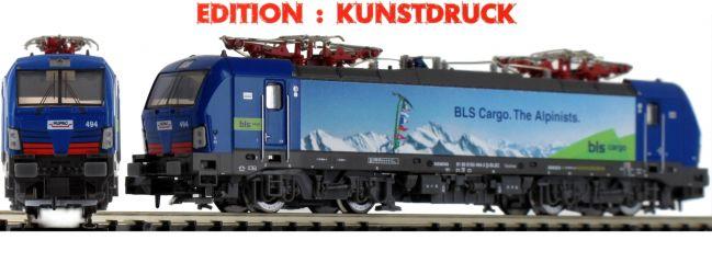 HOBBYTRAIN H2998 E-Lok Re475 Vectron BLS Hupac | analog | Spur N