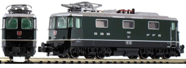 HOBBYTRAIN H3020 E-Lok Re4/4 II 1.Serie, grün | SBB | DC analog | Spur N