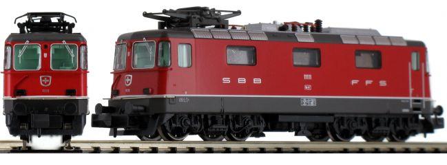HOBBYTRAIN H3023 E-Lok Re 4/4 II, rot SBB   analog   Spur N