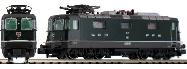 HOBBYTRAIN H3024 E-Lok Re 4/4 II, grün SBB | analog | Spur N