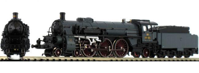 HOBBYTRAIN H4009D Dampflok Badische IVh, stahlblau | BadStB | DCC | Spur N