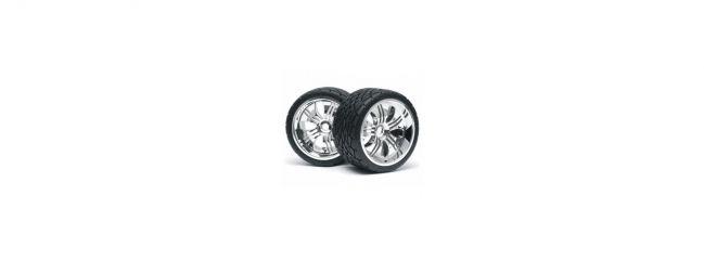 HPI 4731 Phaltline Reifen 140x70 mm | Tremor Felgen | Savage RC Car