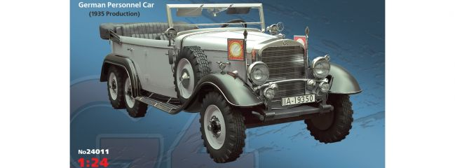 ICM 24011 Personnel Car Typ G4 1935 | Auto Bausatz 1:24