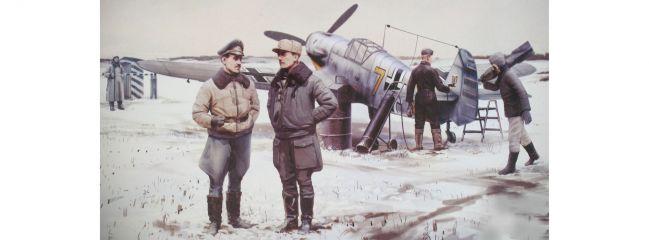 ICM 48804 Me Bf 109F-4 mit Crew | Militär Bausatz 1:48