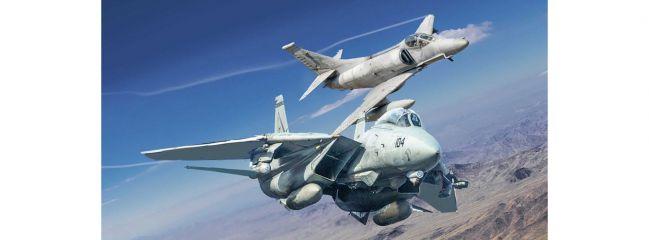 ITALERI 1422 Top Gun F-14A und A-4F   Flugzeug Bausätze 1:72