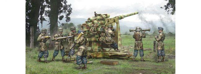 ITALERI 15771 8.8cm FlaK 37 with Crew   Militär Bausatz 1:56