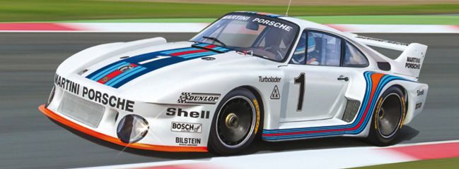 ITALERI 3639 Porsche 935 Martini | Auto Bausatz 1:24