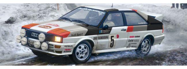 ITALERI 3642 Audi Quattro Rally | Auto Bausatz 1:24