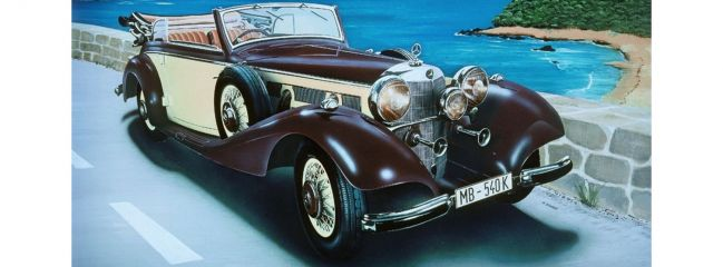 ITALERI 3701 Mercedes Benz 540K Auto Bausatz 1:24