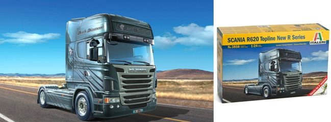 ITALERI 3858 Scania R620 V8 Truck Bausatz 1:24