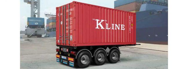 ITALERI 3887 20ft. Container Trailer | LKW Anhänger Bausatz 1:24