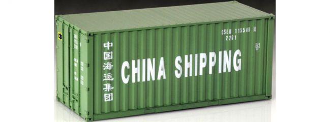 ITALERI 3888 China Shipping 20ft. Container Bausatz 1:24