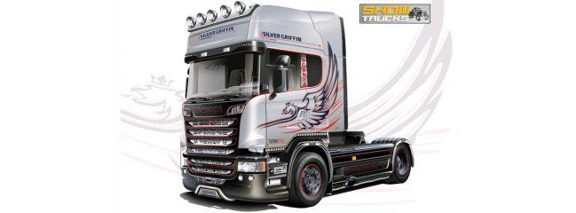 ITALERI 3906 Scania R730 V8 Streamline Silver Griffin | LKW Bausatz 1:24