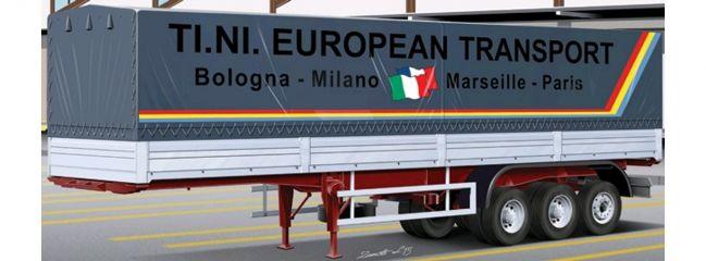 ITALERI 3908 Classic Canvas Trailer | LKW Anhänger Bausatz 1:24