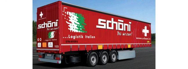 ITALERI 3918 Planen-Auflieger schöni | LKW Anhänger Bausatz 1:24