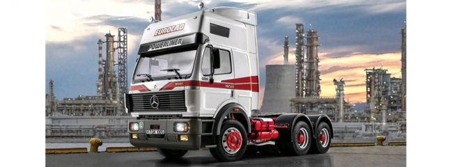 ITALERI 3924 Mercedes Benz SK Eurocab 6x4 | LKW Bausatz 1:24