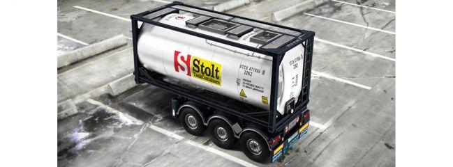 ITALERI 3929 Tecnokar Trailer mit 20ft. Tank | LKW Anhänger Bausatz 1:24