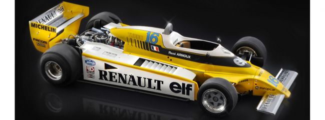 ITALERI 4707 Renault RE 20 Turbo | Auto Bausatz 1:12