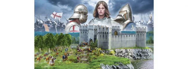 ITALERI 6185 Burgbelagerung | 100-jähriger Krieg | Militär Bausatz 1:72