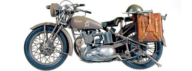 ITALERI 7402 British Triumph 3HW | Motorrad Bausatz 1:9