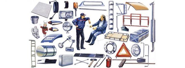 ITALERI 764 Truck Shop Accessories | LKW Zubehör-Set 1:24