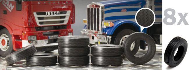 ITALERI 3889 LKW-Reifen 1:24   8 Stück