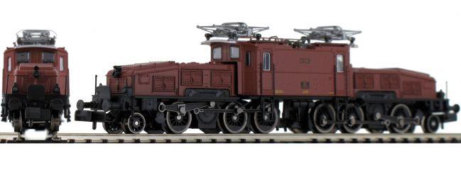 Jägerndorfer 62110 E-Lok Ce 6/8 II Krokodil, braun SBB | analog | Spur N