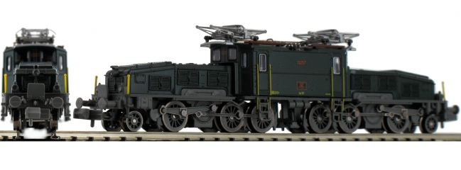 Jägerndorfer 62122 E-Lok Ce 6/8 II Krokodil, grün SBB | DCC Sound | Spur N