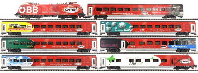 Jägerndorfer 10900 Zug-Set Railjet 8-tlg. ÖBB | EM 2016 Sonderserie | AC-Digital | Spur H0 online kaufen